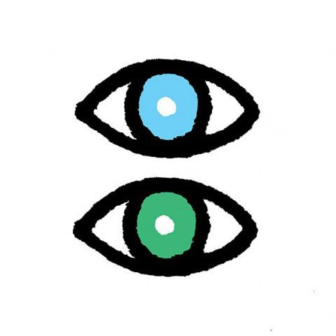 Les yeux vairons